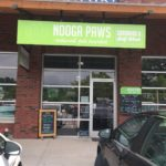 Outside Nooga Paws