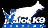Valor K9 Academy Logo