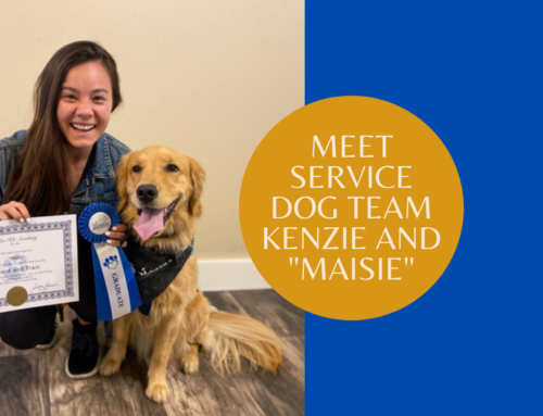 """Meet Service Dog Team Kenzie and """"Maisie"""""""